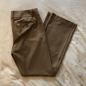 "Loft tan trousers, 31"" inseam"